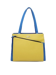 Blue & Yellow Handbag Lavie