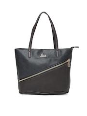 Lavie Brown & Navy Barista Handbag