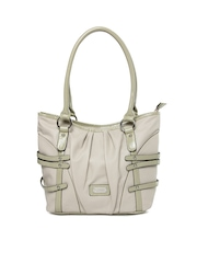 Lavie Cream Toned Handbag