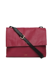 Lavie Maroon Azalia Sling Bag