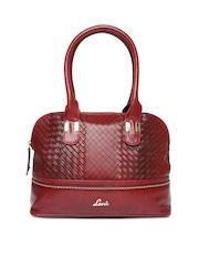 Lavie Maroon Blend Handbag