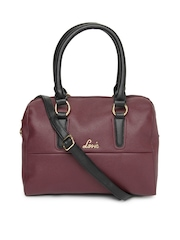 Lavie Maroon Lobelia Handbag