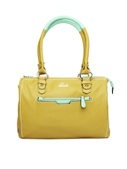 Lavie Mustard Yellow Oliva Handbag