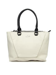 Lavie Off-White Milfoil Shoulder Bag