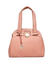 Lavie Pink Crema Handbag