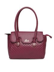 Lavie Purple Handbag
