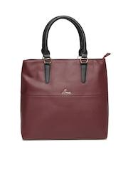 Lavie Burgundy Handbag