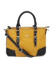 Mustard Yellow Etude Handbag Lavie