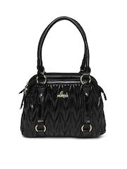 Lavie Black Estampie Handbag
