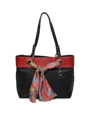 Leather Talks Black Shoulder Bag