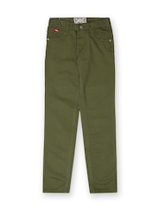 Lee Cooper Boys Green Trousers