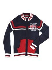 Lee Cooper Boys Navy Sweater