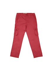Lee Cooper Boys Red Trousers