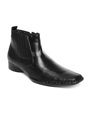 Lee Cooper Men Black Semi-Formal Boots