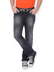 Lee Cooper Men Black Frank Skinny Fit Jeans