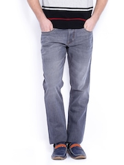 Lee Cooper Men Grey Harry Skinny Fit Jeans