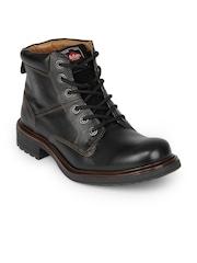 Lee Cooper Men Lc9578 Black Casual Shoes