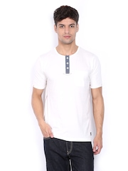 Lee Cooper Men White T-shirt
