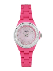 Lee Cooper Women Pink Dial Watch