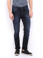 Lee Men Blue Bruce Fit Jeans