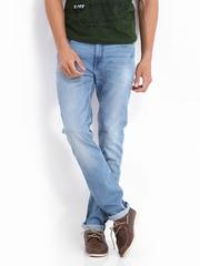 Lee Men Blue Bruce Skinny Fit Jeans