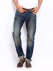Lee Men Blue Powell Slim Fit Jeans