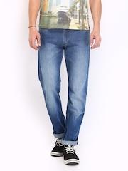 Lee Men Blue Rodeo Regular Fit Jeans