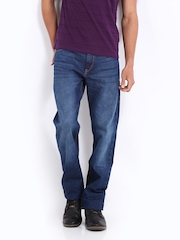 Lee Men Blue Rodeo Regular Fit Jeans