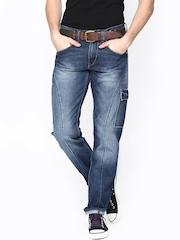 Lee Men Blue Tornado Fit Jeans