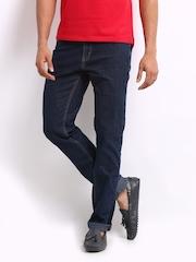 Lee Men Dark Blue Bruce Skinny Fit Jeans