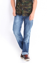 Lee Men Blue Regular Fit Jeans
