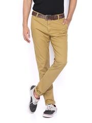 Lee Men Khaki Bruce Skinny Fit Trousers
