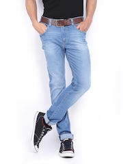 Lee Men Light Blue Bruce Skinny Fit Jeans