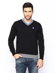 Lee Men Black Sweater