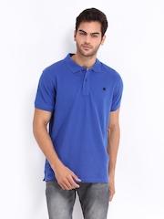 Lee Men Blue Polo T-shirt