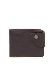 Lee Men Brown Leather Wallet