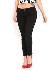 Lee Women Black Amy Slim Fit Jeans