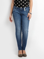 Lee Blue Alexandra Maxi Skinny Fit Ankle Length Jeans