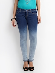 Lee Women Blue Jade Maxi Skinny Fit Jeans
