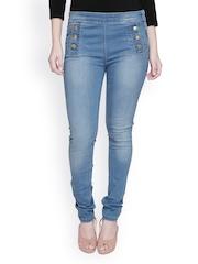 Lesley Women Blue Skinny Fit Jeggings