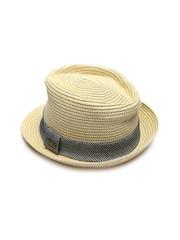 Levi's Men Beige Trilby Hat