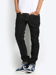 Levis Men Black 511 MFL Santa Barbara Slim Fit Jeans