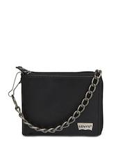 Levis Men Black Leather Wallet