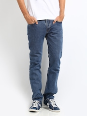 Levis Men Blue 511 Claremont Slim Fit Jeans