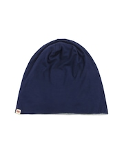 Levis Men Blue Beanie Cap