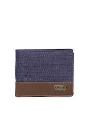 Levis Men Blue Wallet