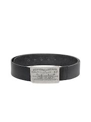 Levis Men Black Leather Belt