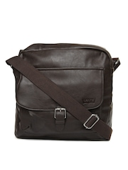 Levis Men Brown Messenger Bag