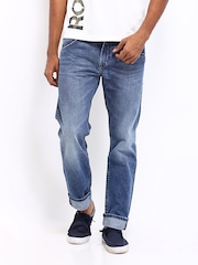 Levis men Blue 508 Taper Fit Jeans