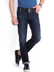 Levis Blue 504 Regular Straight Fit Jeans